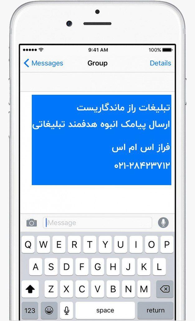ارسال پیامک انبوه تبلیغاتی راز ماندگاری و افزایش فروش است