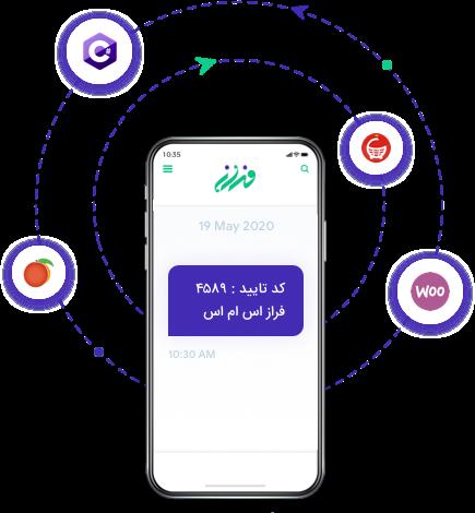 وب سرویس سامانه پیامک برای ارسال پیامک خدماتی