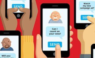 تبلیغات پیامکی انتخابات شهر و روستا 1400