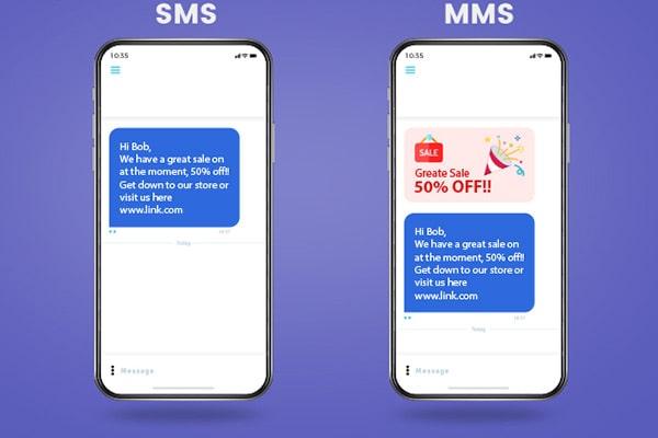 تفاوت MMS و SMS